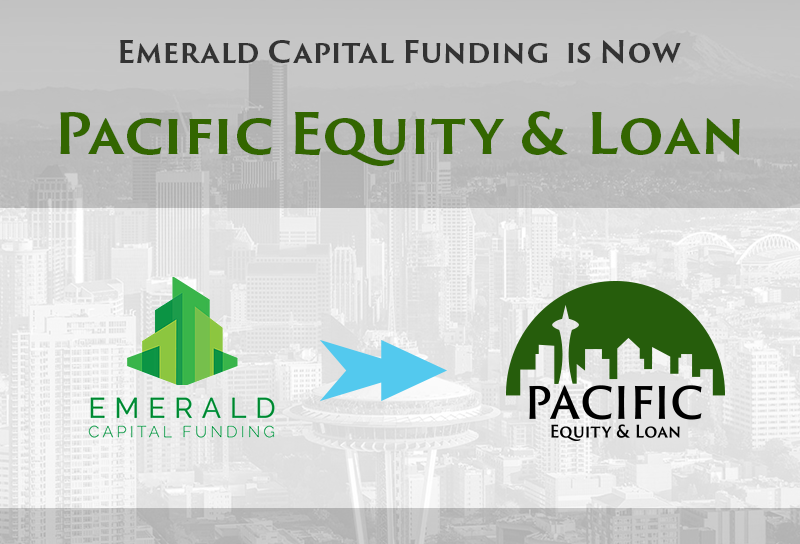 Emerald Capital Funding is Now Pacific Equity & Loan